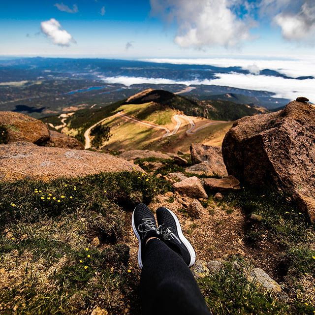 Trips are so busy. I did my very best when I was so overwhelmed by the beauty of the landscape to take a moment, sit in silence, and thank God for the blessing of the trip and the blessing of the beautiful world in which we live. God is an amazing artist! #pikespeak #pikespeaksummit #colorado #coloradosprings #emptynesting #emptynesters #clickpro #documentyourdays #documentyourmemories_ #clickinmoms #jbtols #momblogger #bloggingmom #rvlife