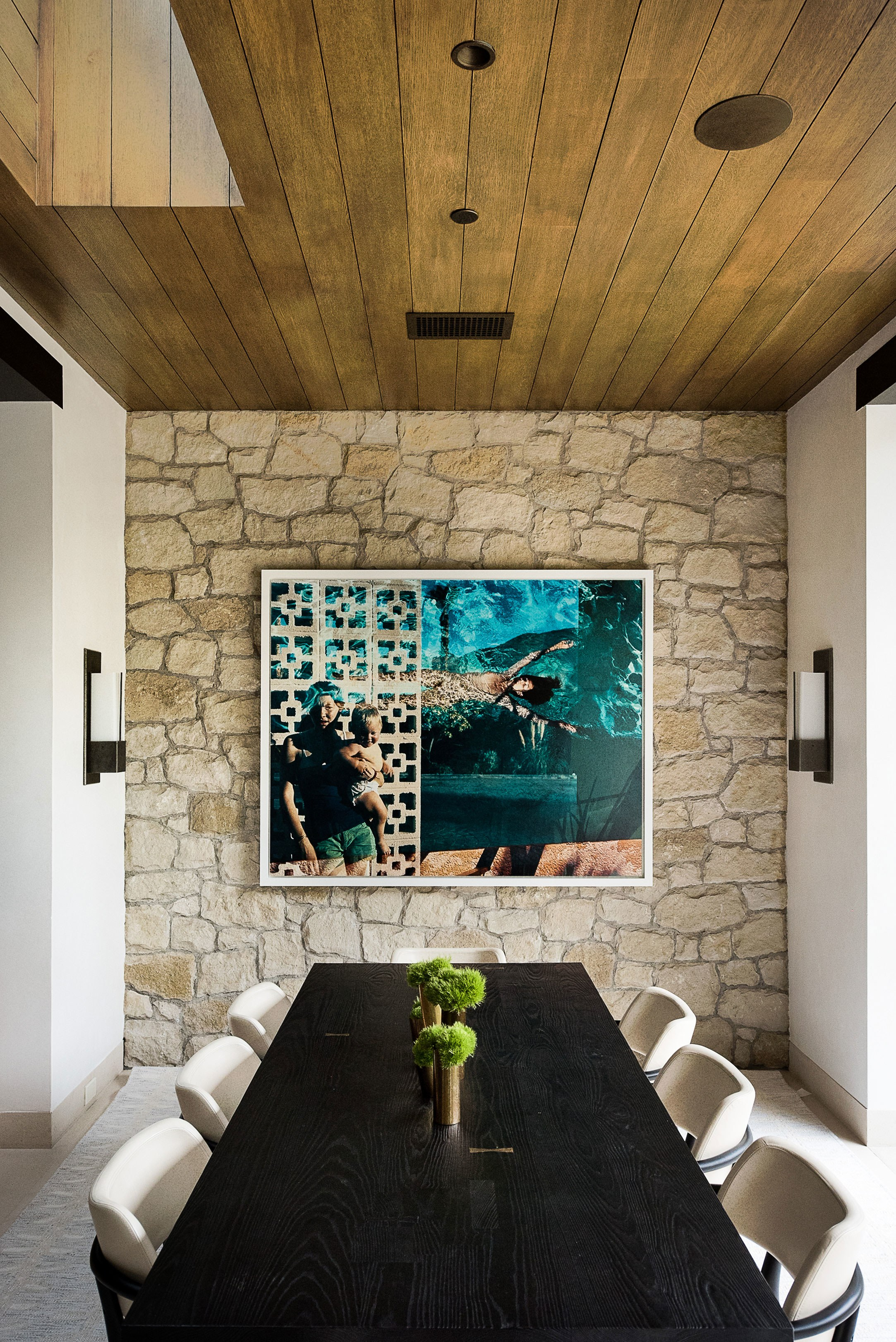PRIVATE RESIDENCE  BRENTWOOD, CA  ARTIST: TIERNEY GEARON