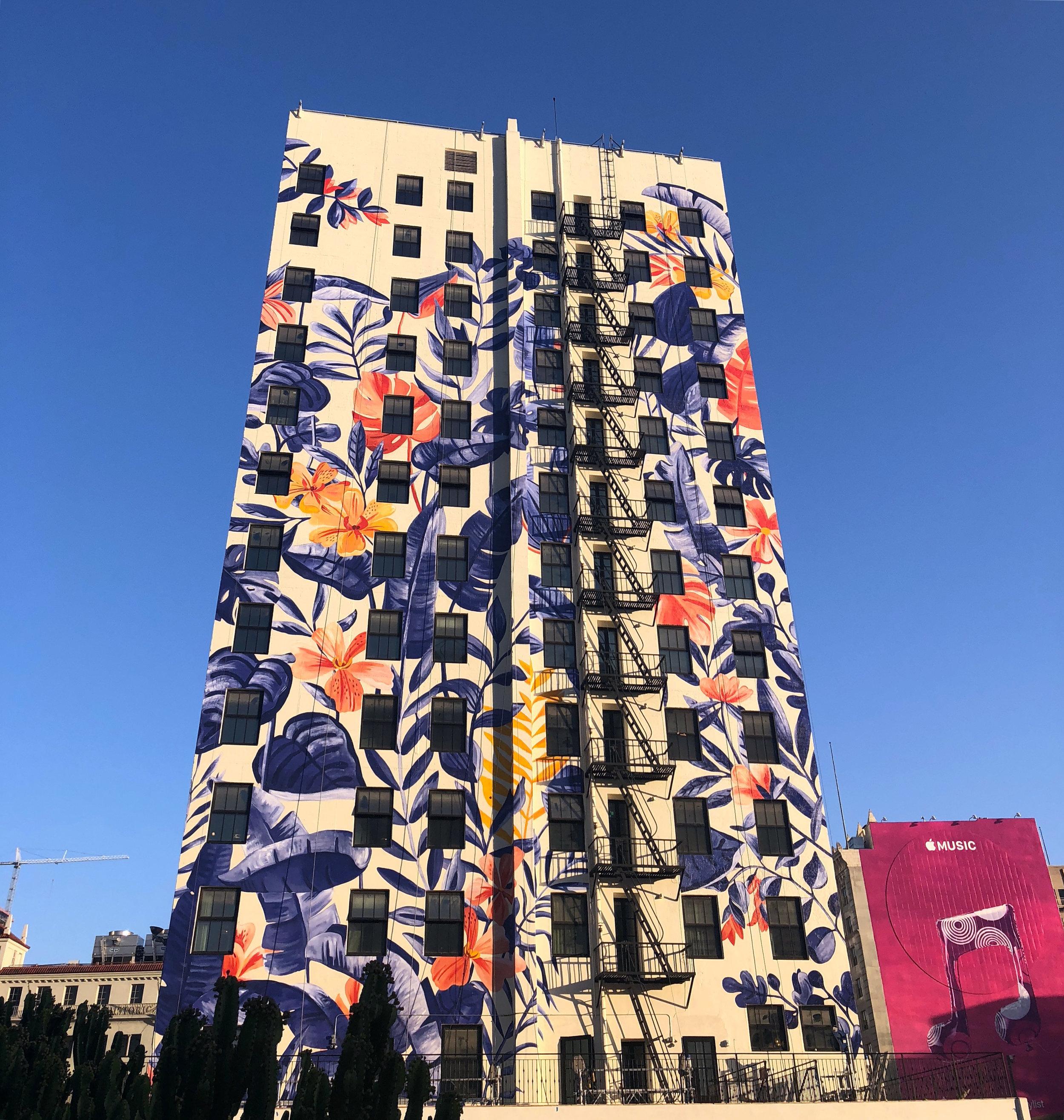 HOTEL FIGUEROA  LOS ANGELES, CA  ARTIST: BELLA GOMEZ