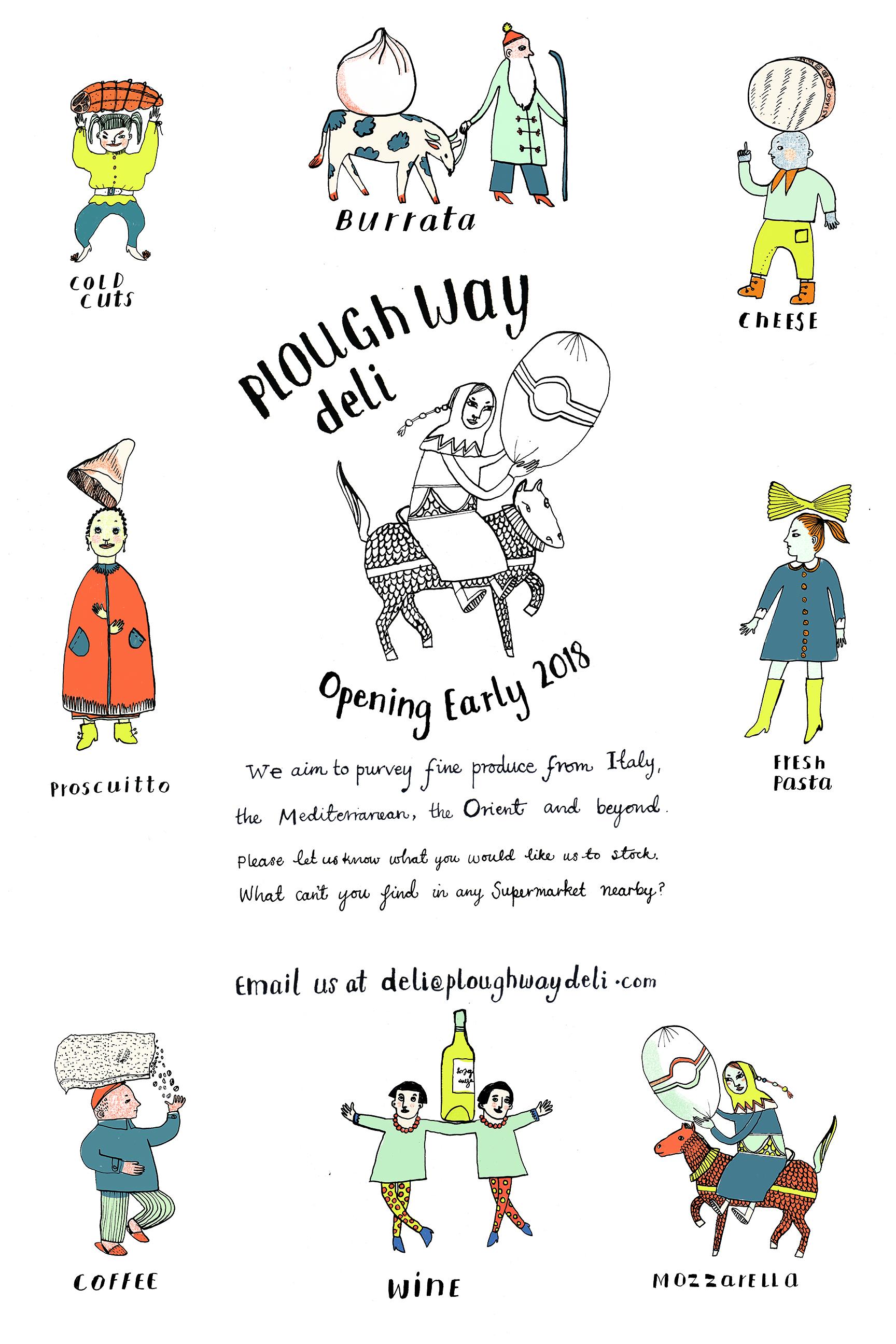 Poster | Plough Way Deli