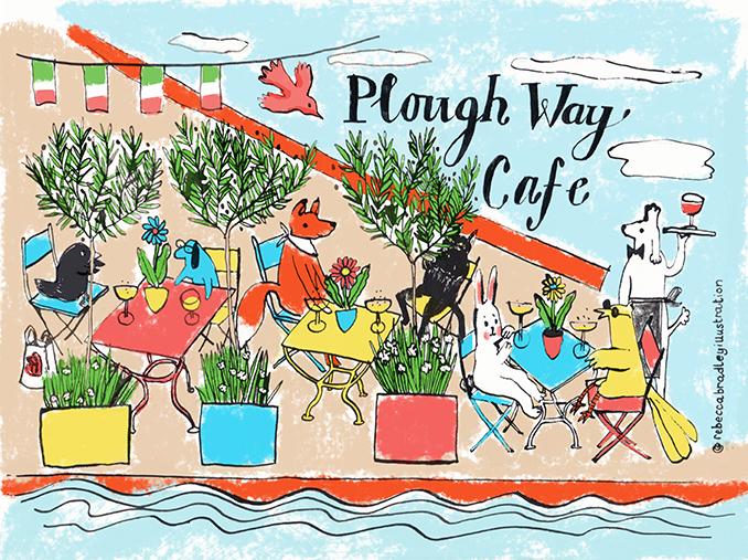 SPRING HEADER | PLOUGH WAY CAFE