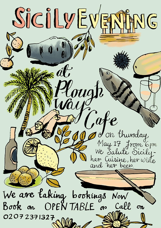 SICILY FLYER | PLOUGH WAY CAFE