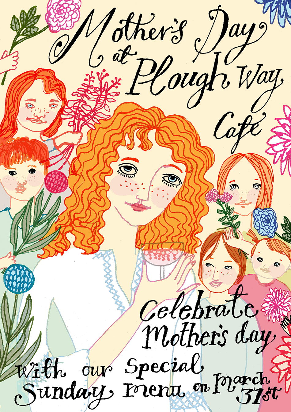 PLOUGH WAY CAFE | Mother's Day Flyer