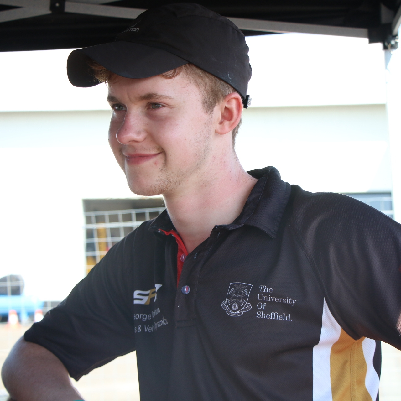 "george packham (keen)  cvd team leader  Year: 3  Course: Mechanical Engineering  ""In the past two years I have been involved with the manufacture of the chassis jig and the design of the chassis itself. I am new to motorsport but I am keen to learn and love to get involved. I am now CVD team leader and hope to push SFR10 to be our best car yet."""