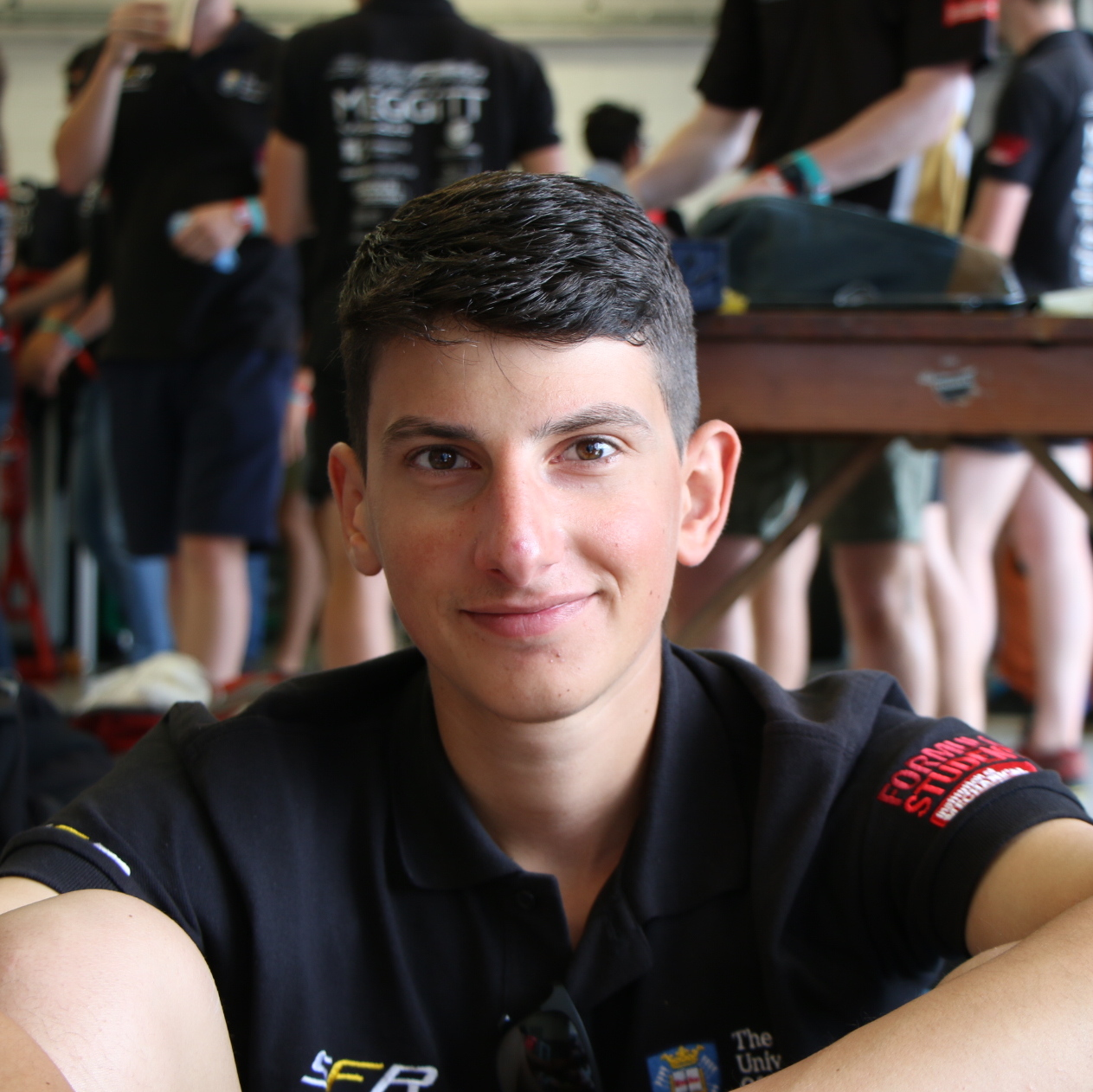 "george boufidis  year: 2  Course: mechanical engineering  ""When I create I forget to eat and when I try to solve the problem I forget to sleep. I am fascinated by robotics, music, sports, travelling and much more."""