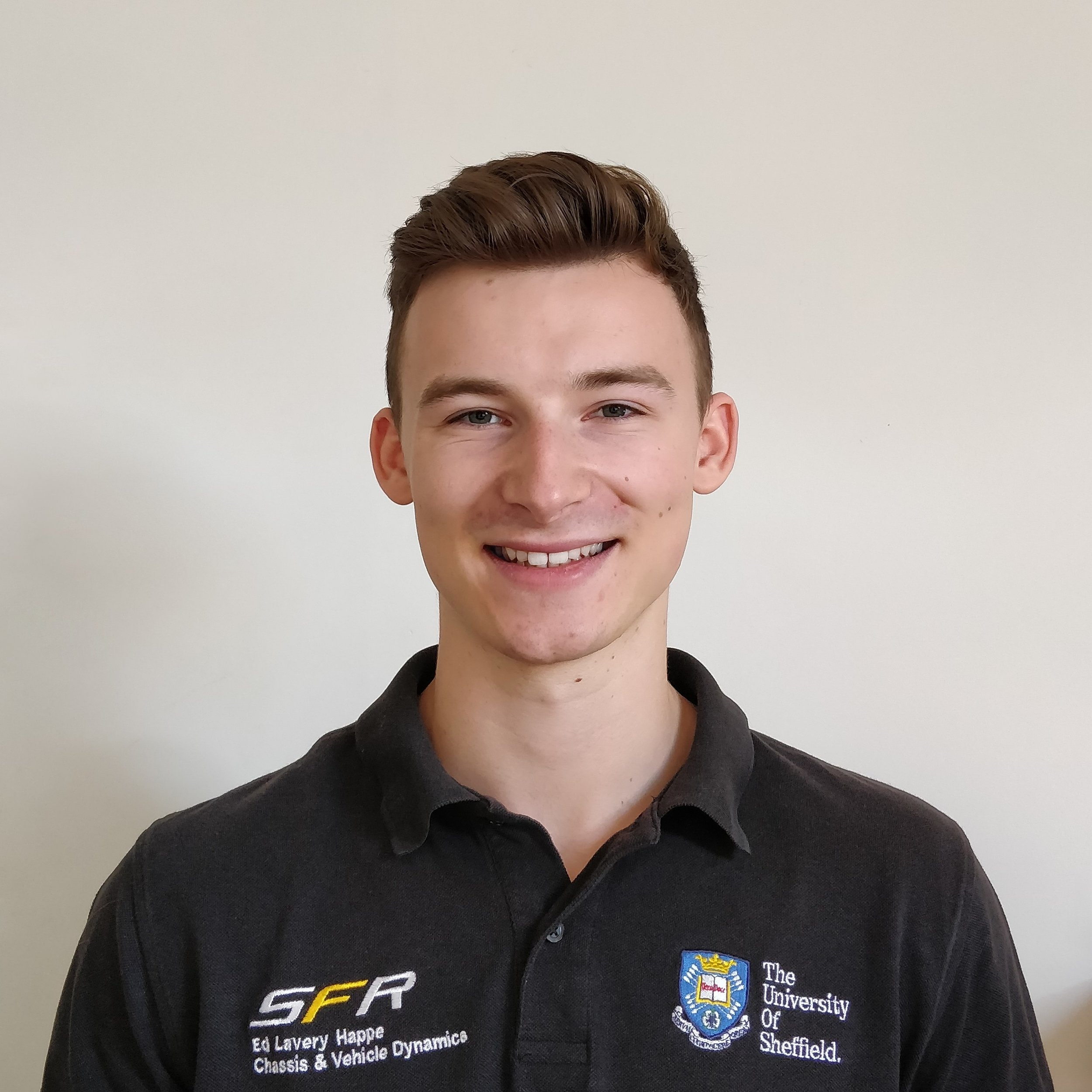 "edward lavery happe  Year: 2  Course: Mechanical engineering  ""I am passionate about high performance cars. outside of engineering, i play classic and acoustic guitar, go to the gym and go backpacking in the summer."""