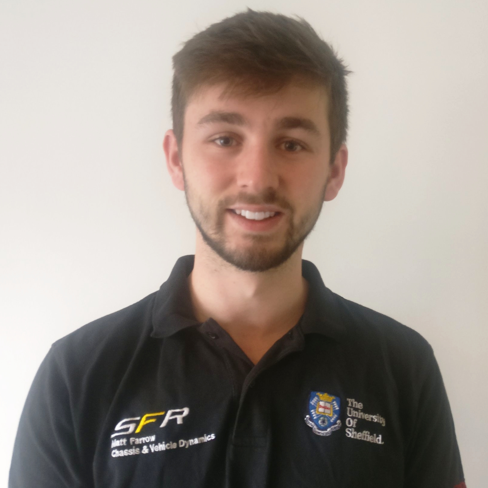 "matt farrow  year: 2  course: mechanical engineering  ""I am looking forwards to my second year on the team where I will be working on the aerodynamics sub-team. Outside of Formula Student I enjoy participating in sports such as Rowing, Football and Cycling."""