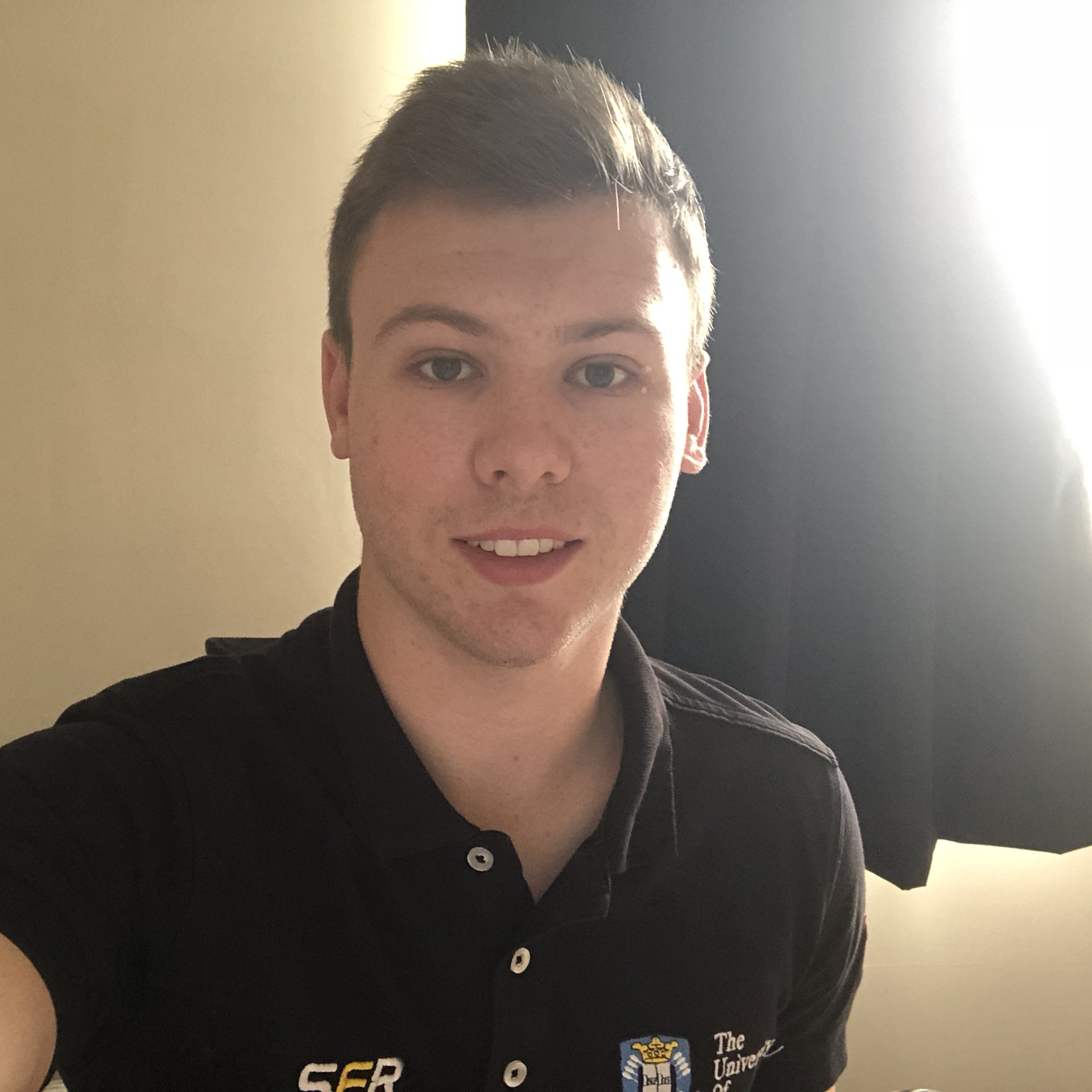 "dan terry  year: 5  Course: mechanical engineering  ""I am returning for my final year with SFR after completing my year in industry with motorsport transmission specialists Xtrac. I will be continuing my work with the Aerodynamics team and am looking forward to producing SFR's first aerodynamics package."""