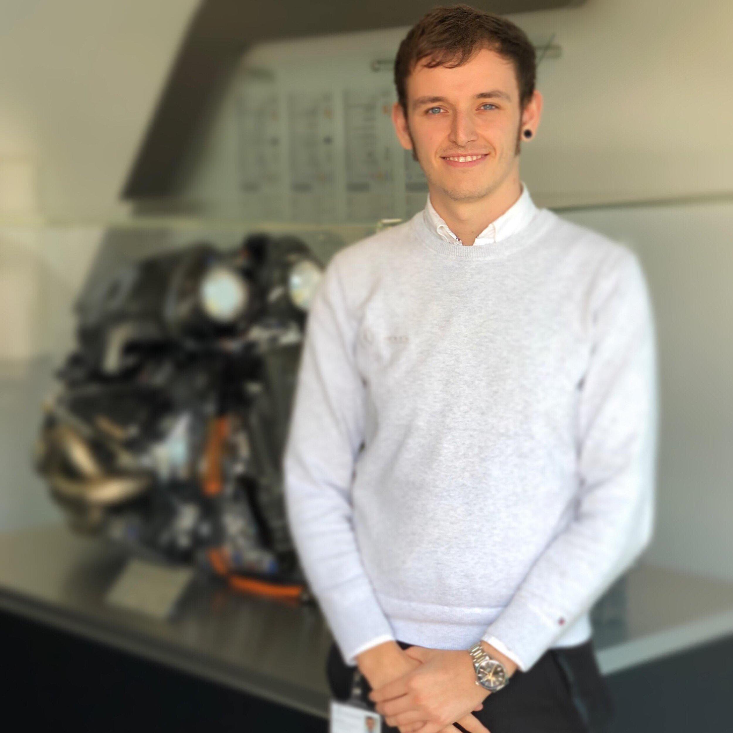 jack miszewski  year: 4  course: mechanical engineering  placement: Mercedes amg hpp