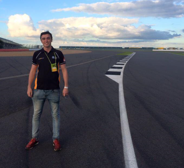 andy featherstone  year: 5  course: mechanical engineering  placement: red bull racing f1 team