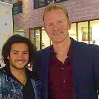 November, 2015  Shay Motion and  Morgan Spurlock  at The Gold Coast International Film Festival