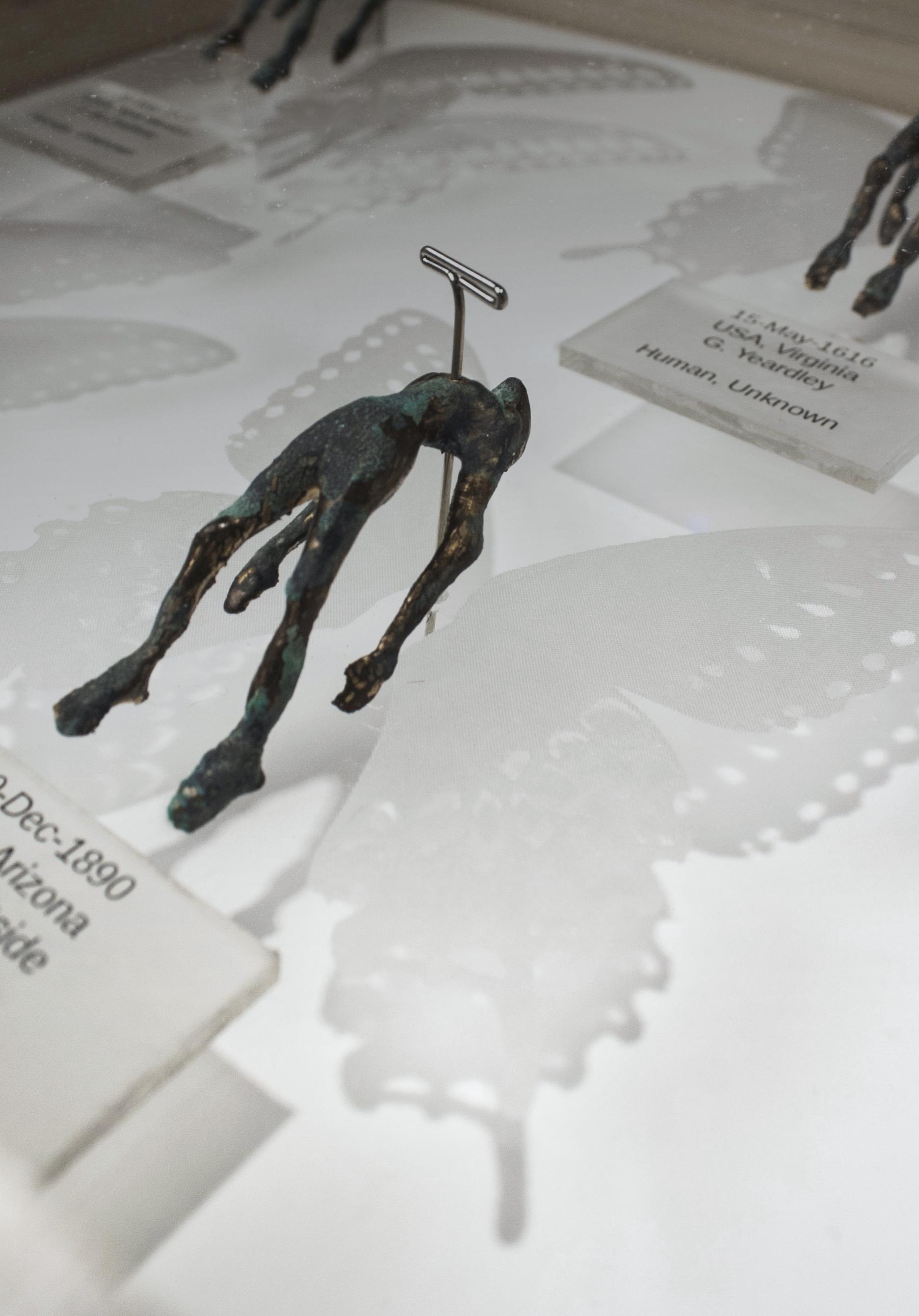 """Genocide Samples (bronze """"samples"""")"""