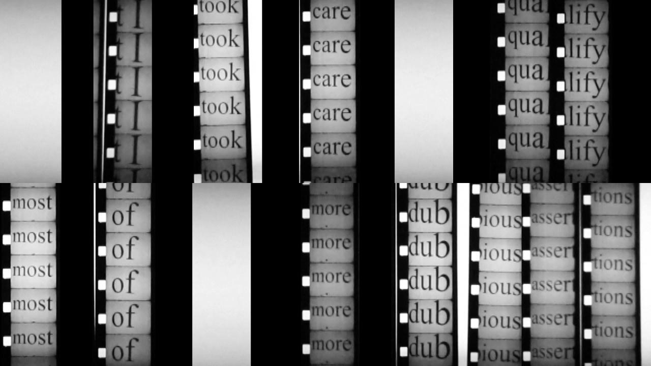Toby Kaufmann-Buhler,  2 fragments of motion (self surveillance) ,1:33, HD video/sound, 2014