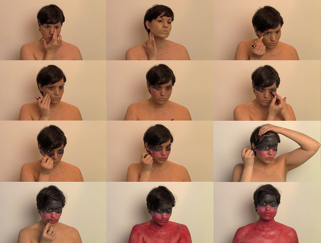 Art Make-Up: After Bruce Nauman