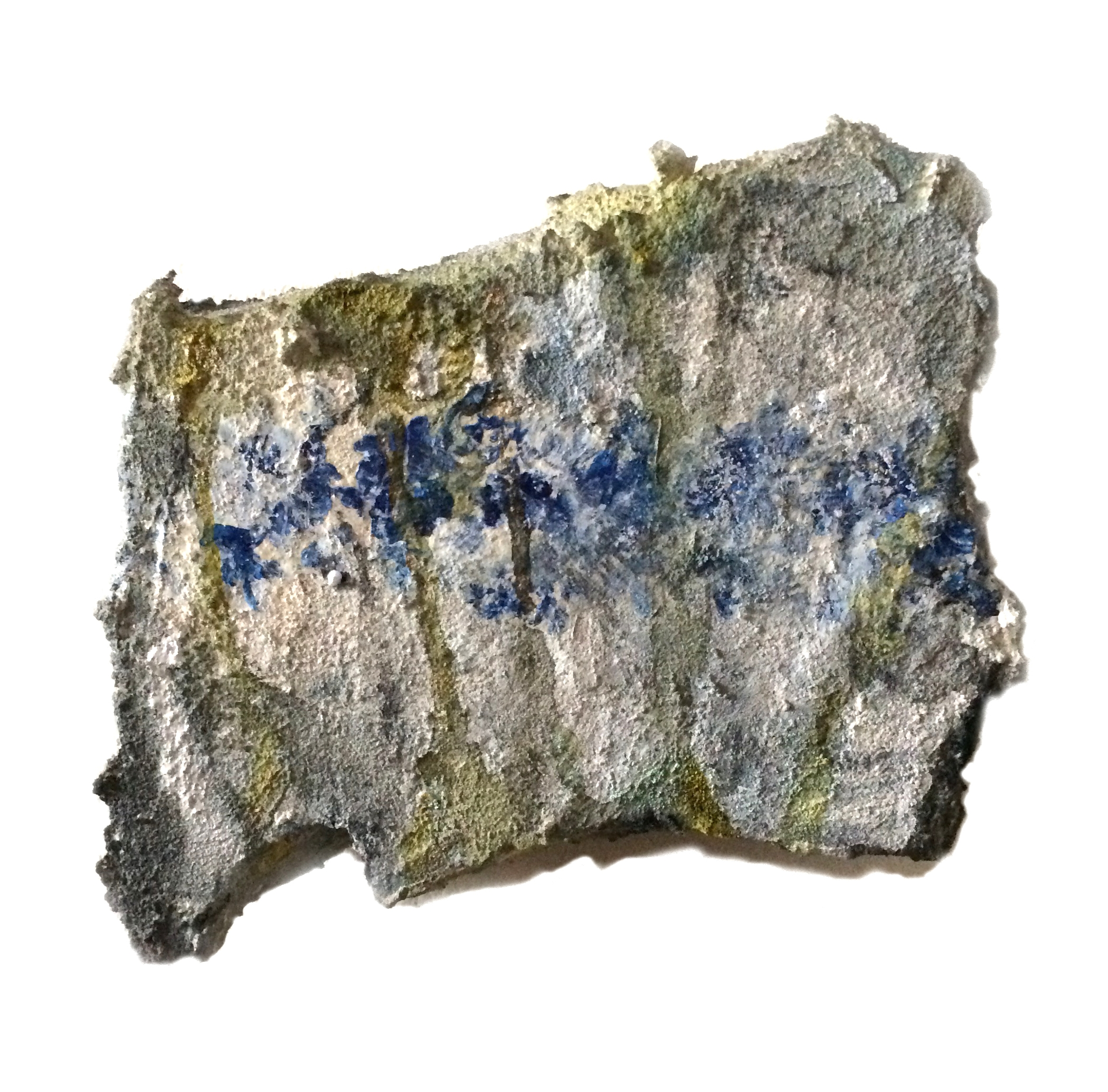 Tile Fragment with Flowers