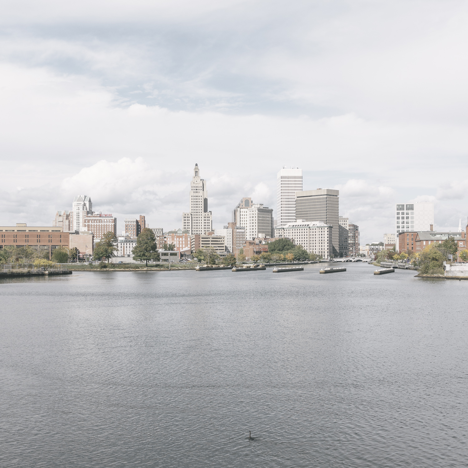 untitled (downtown seen from the harbor) , Providence, Rhode Island, 2015