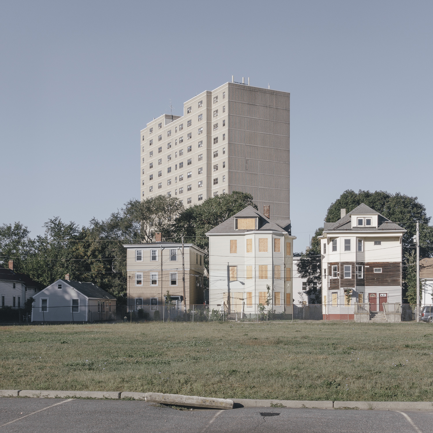 untitled (common variations of housing) , Providence, Rhode Island, 2016