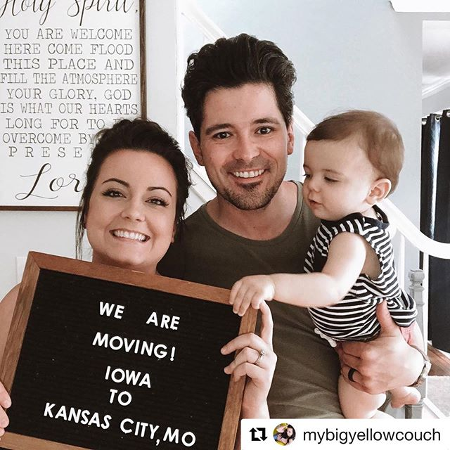 Sad to be leaving, but Missouri loves company. Come visit us! HUGE thanks to Mason City and @rhythm.church for the last 6 years! Here's to new adventures, big city living, and making more babies! Let's go! 🙌🏼