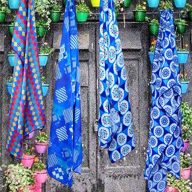 Coming soon.........#nadderzique_textile_design scarves at #lighthousepoole