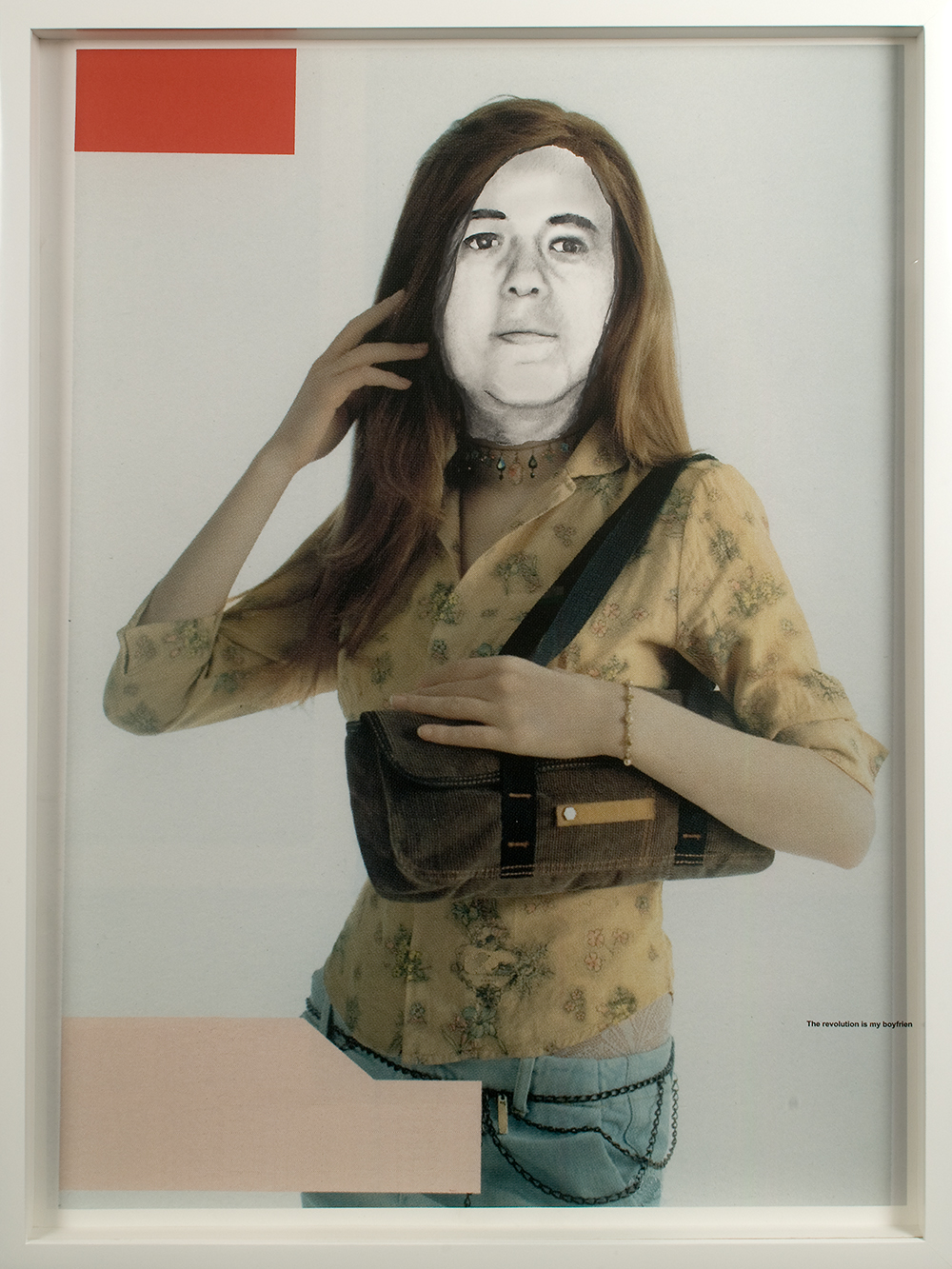 "no.2- Untitled ( Konca Kuris) pencil on paper and ink jet print, 21""x28""/ 53cmx71cm 2007/08"