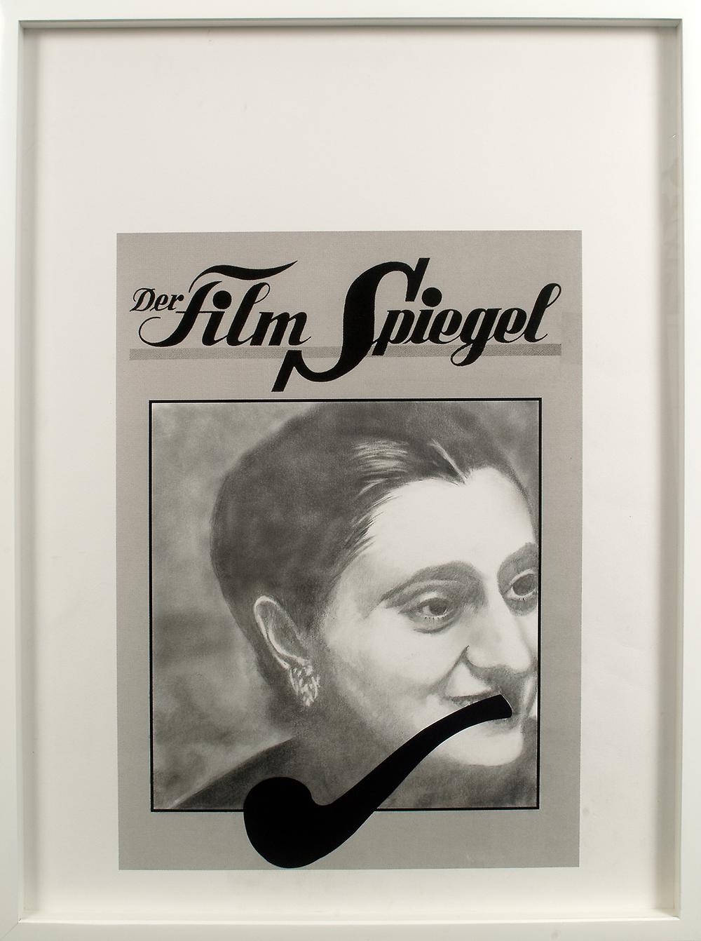 no.11- Untitled ( Indira Gandhi) pencil on paper, ink jet print 2007/08
