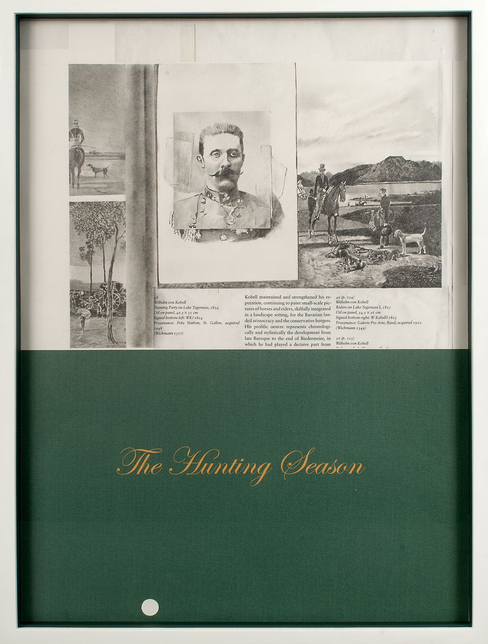 """no.25- Untitled (Franz F.Habsburg) pencil on paper, ink jet print, 21""""x28""""/ 53cmx71cm,             2007/08"""