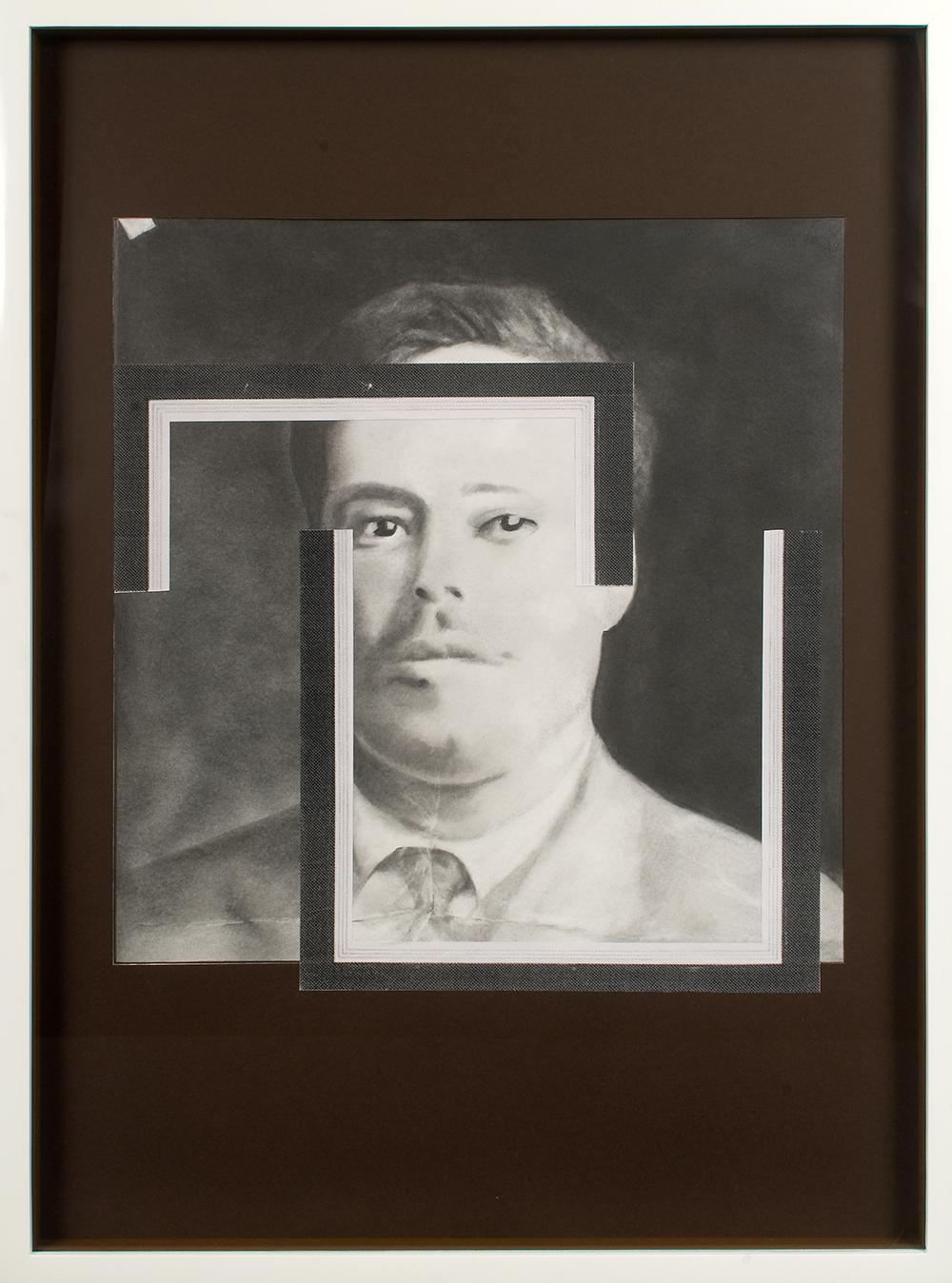 "no.32- Untitled (Francisco ""Pancho"" Villa) pencil on paper, ink jet print, 21""x28""/             53cmx71cm, 2007/08"
