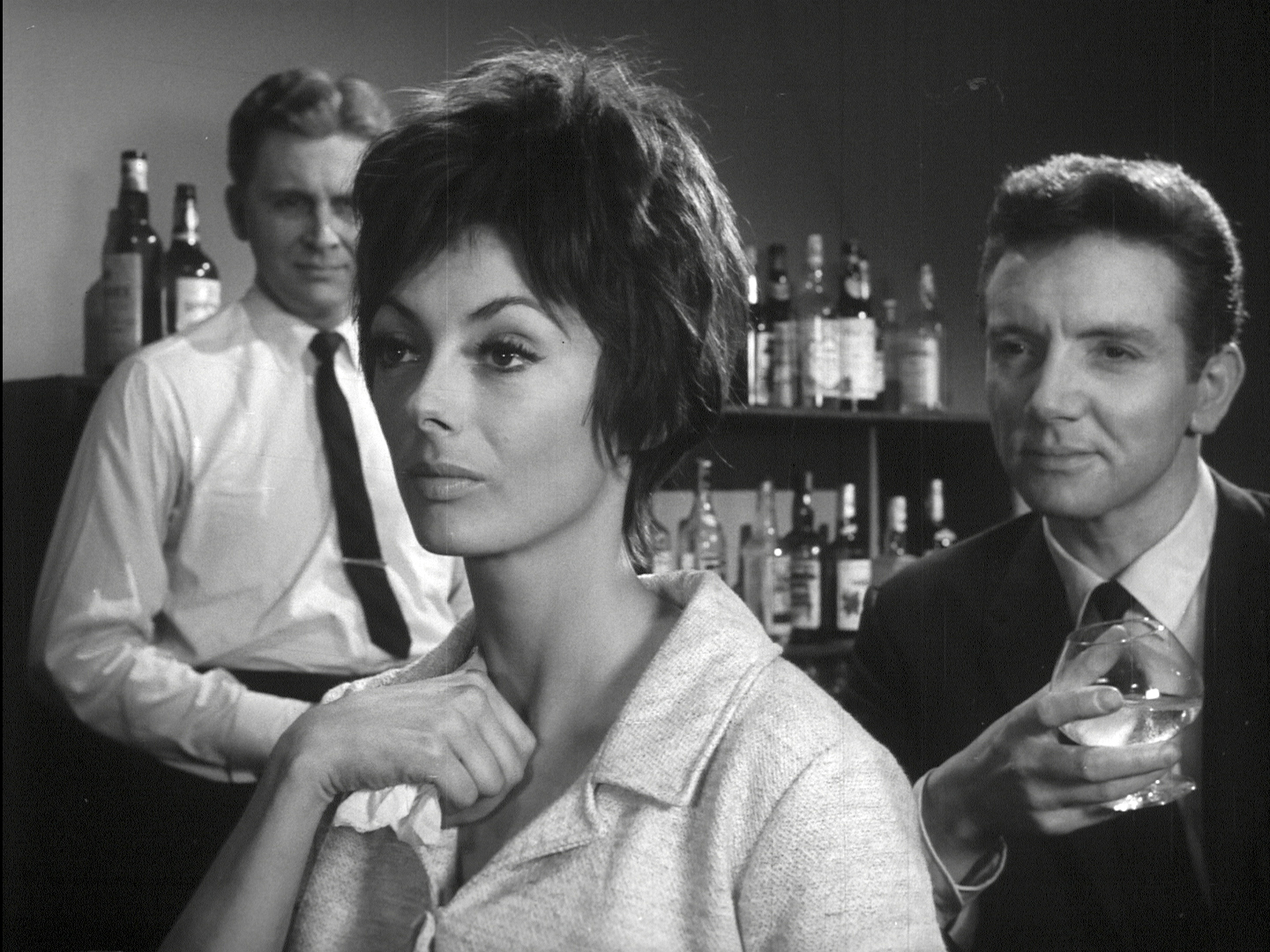 Still from Joe Sarno's 1963 film SIN YOU SINNERS.