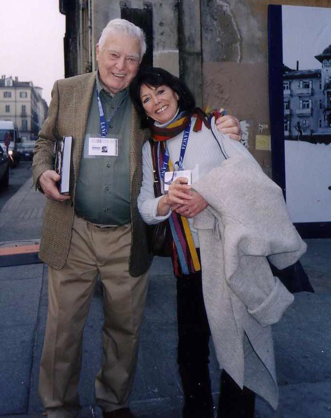 Joe and Peggy Sarno in Torino 2006