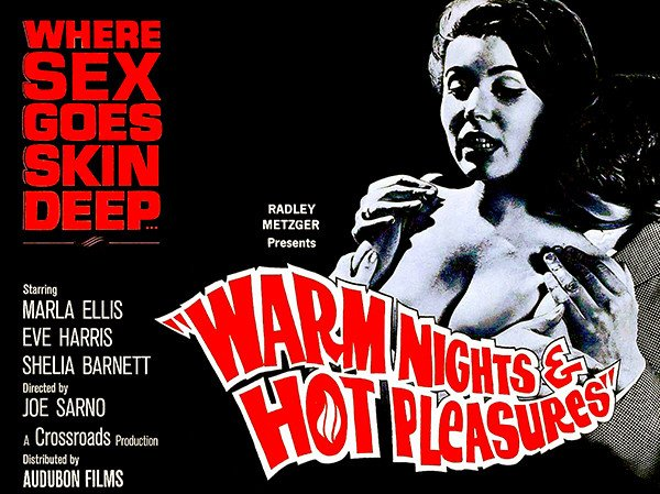 Original Theatrical ARt for WARM NIGHTS AND HOT PLEASURES
