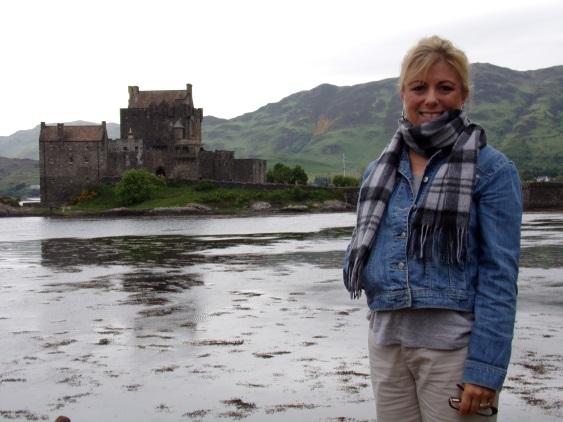 Mia at Eilean Donan Castle