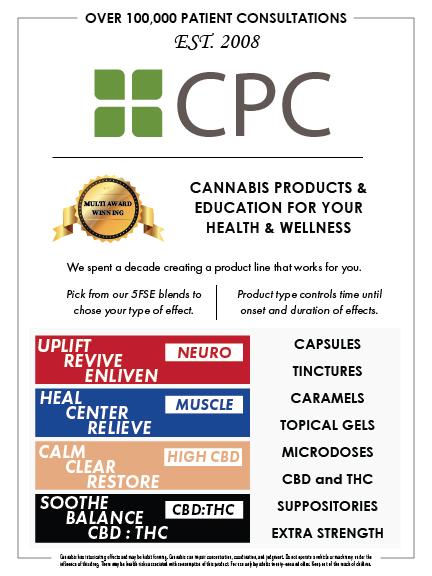 CPC marketing pamphlet