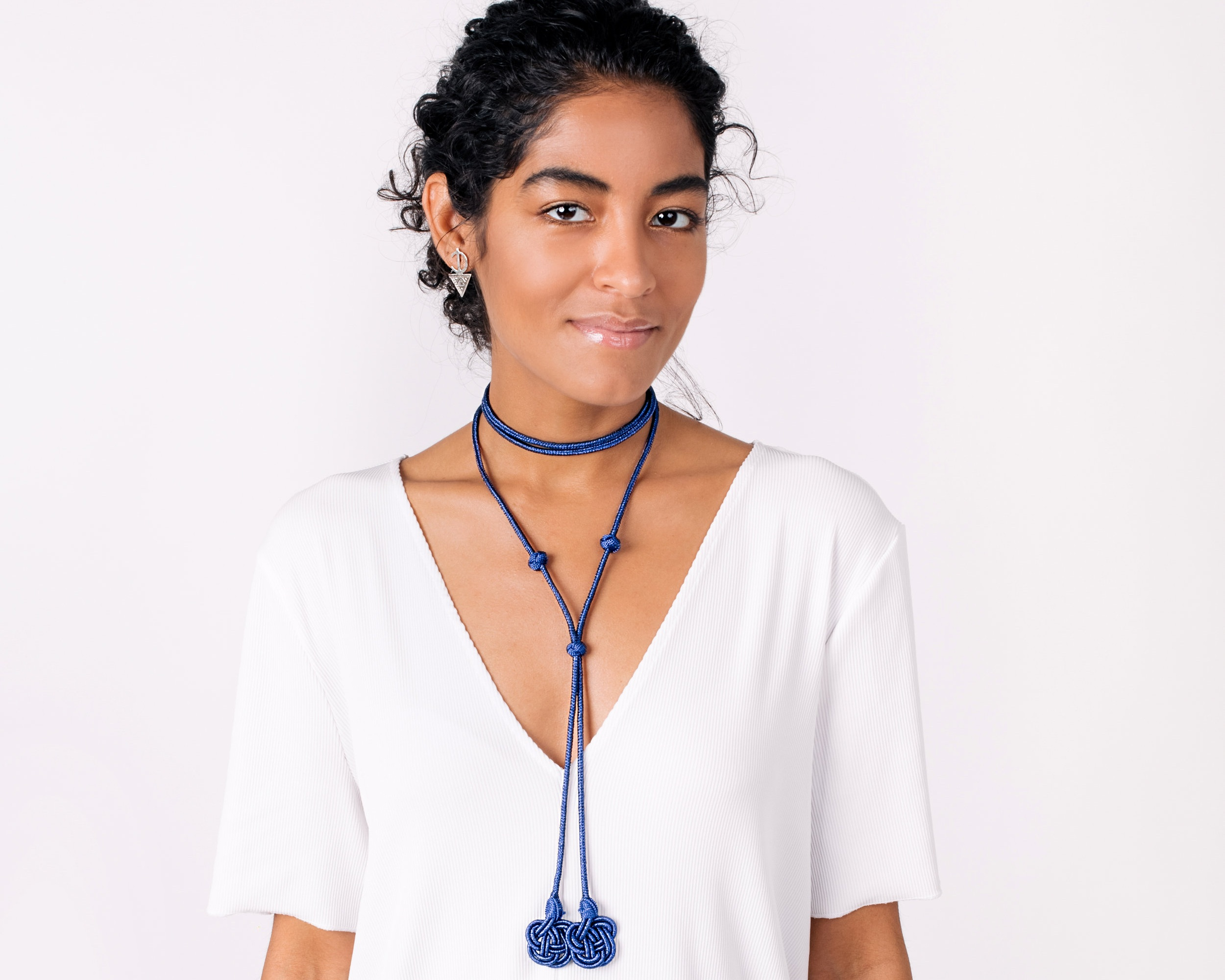 Al'Thueban Choker in Majorelle Blue