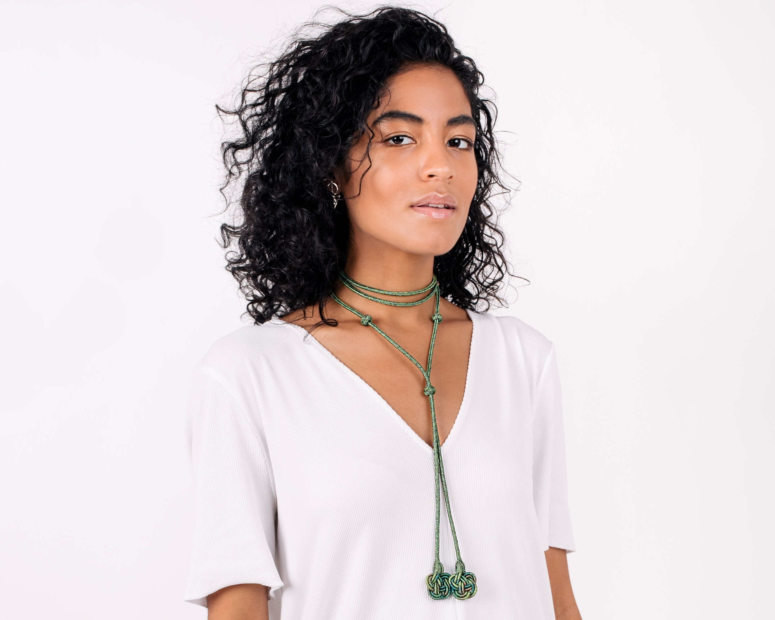 Al'Thueban Choker in Emerald Green
