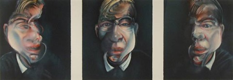 After Three Studies for a Self-Portrait , 1981