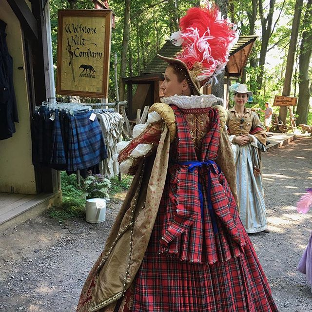"""Greetings!  Folks - it is time for one of our Favorite Weekends at Sterling Renaissance Festival!  This weekend (July 22nd and 23rd) is Highland Fling Weekend!  So why not make plans to come see us at Potomac Leather and Wolfstone Kilt!  Come get that Kilt you have been planning on.  Come see us put your friend (or you) into a Great Kilt!  Come get that Leather you have been lusting after.  Whether Scottish or Irish or anything in between we have you covered.  Is Outlander your thing?  You wont want to miss the Clothing and Leather we have to create the perfect outfit to fill your Outlander desires.  I guess you can see the theme here, we are Potomac and Wolfstone, and we cater to your """"Romantic Journeys Through Time""""  HUZZAH!"""