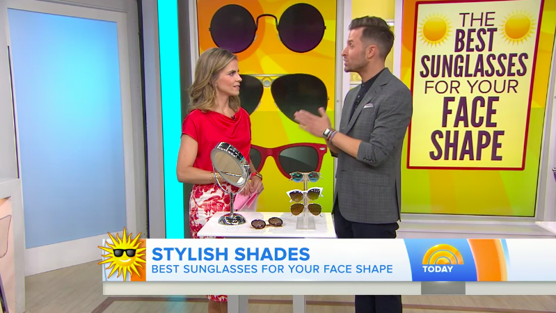 Today Show: The Best Sunglasses For Your Face