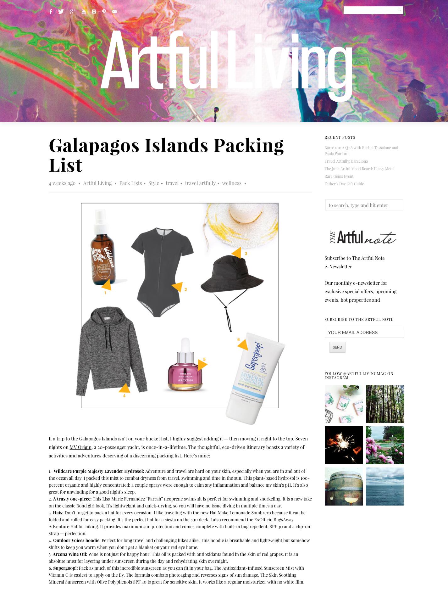 June 2016 Artful Living Magazine – Blog