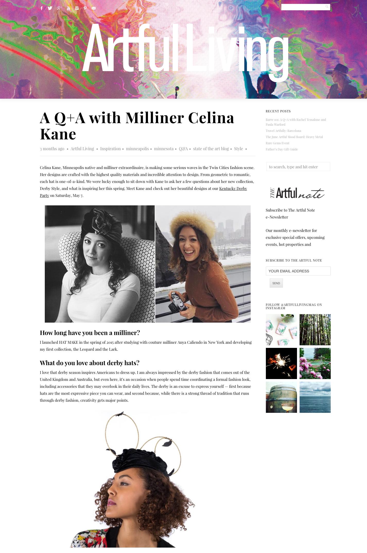 April 2016 Artful Living Magazine – Blog