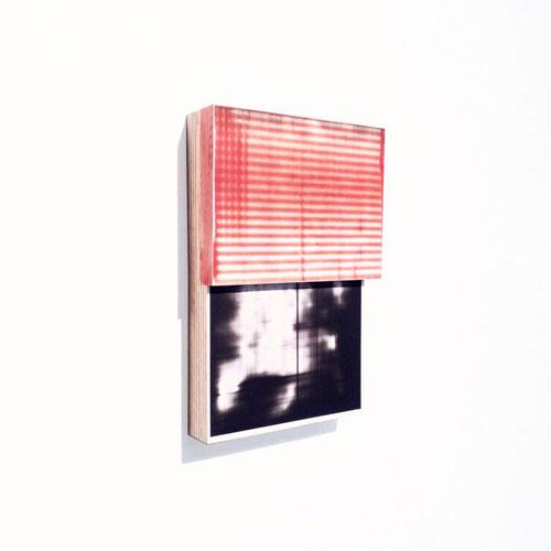 Ben Dallas, Fauxtos 25, 2015. Acrylic glaze, polypropylene, wood, 7 1/2 x 5 x 1 1/2 inches.