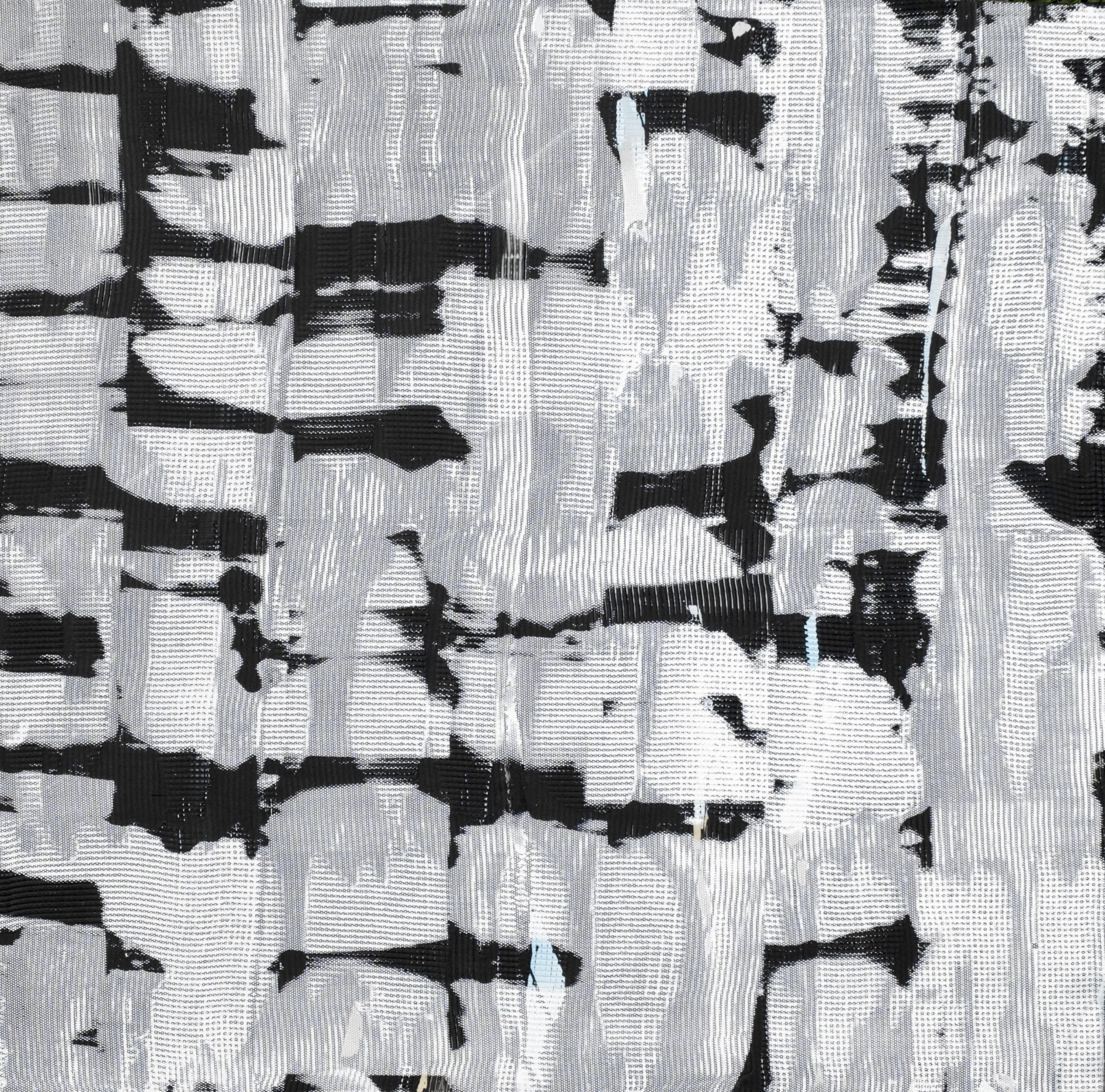 Warren Greene, Bellicose Binary, 2015. Acrylic and oil on panel, 36 x 36 inches.