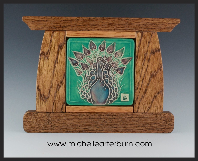 Hand-crafted Tile/Porcelain - Framed