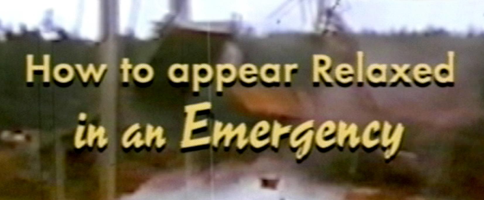 Hallensteins - Emergency