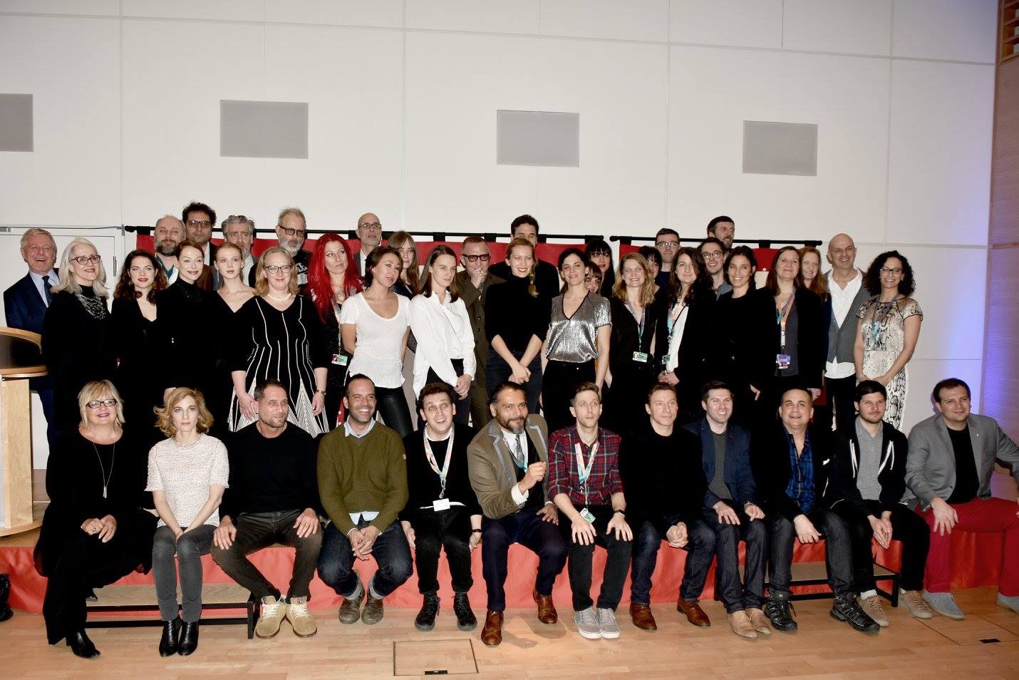 Canadian filmmakers at Berlinale 2016. Looking forward to seeing many of these faces again for 2017 festival and EFM.