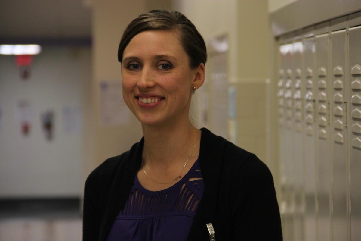 Rachel Ward, coordinator of assessment & instructional coach for Maplewood Richmond Heights School District TIM LLOYD | ST. LOUIS PUBLIC RADIO