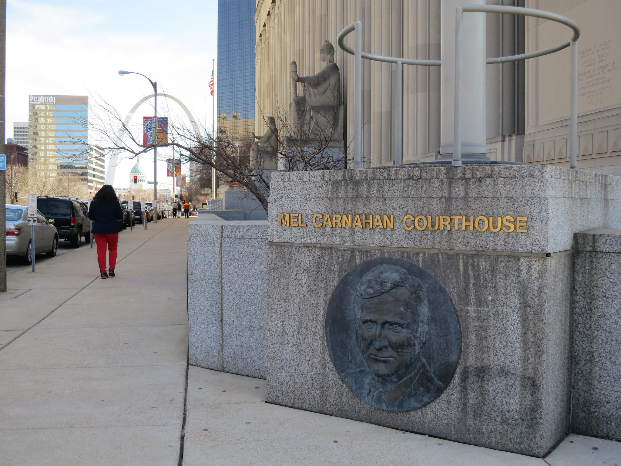Carnahan Courthouse in downtown St. Louis is home to the St. Louis City Distirct of the criminal justice system.  PAUL SABLEMAN VIA FLICKR