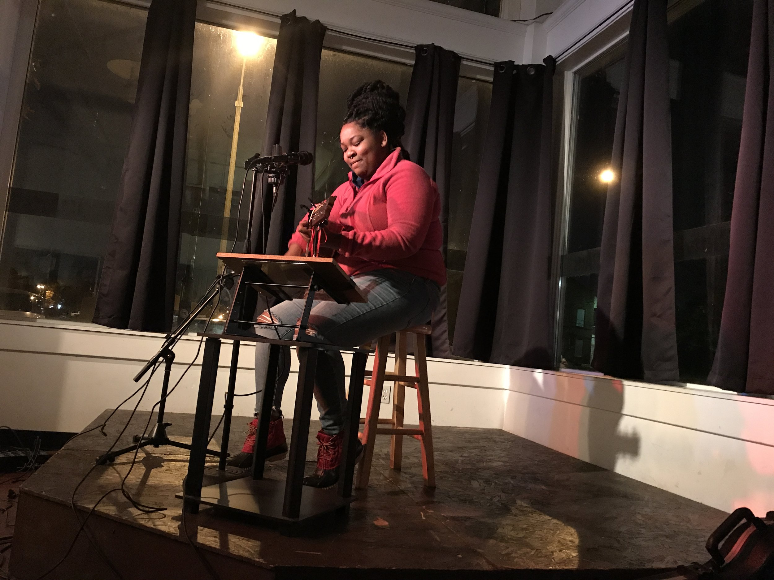"""Singer/songwriter Aida Ade performs """"Home"""" about her family's multi-generational history in St Louis."""