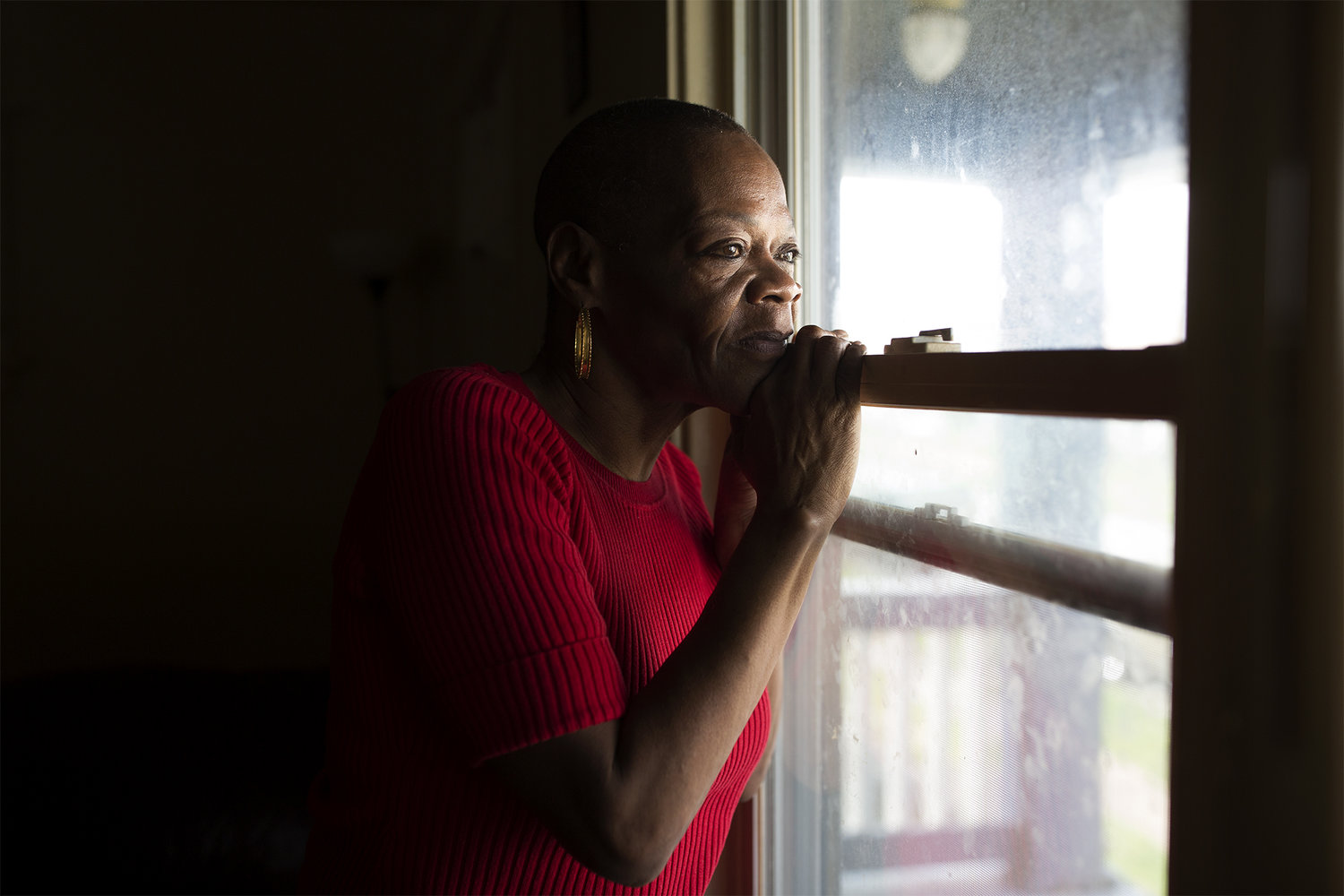 Rosetta Watson moved to Maplewood, Mo. to escape an abusive ex-boyfriend. But when he found her -- and subsequently beat her up -- Watson called for help. But this kept happening, and town officials took notice. Eventually, they told Watson the police service calls to her home constituted a public nuisance, and as punishment, they kicked her out of town. Watson is now suing the city in federal courts, and she has the backing of local and national legal and housing advocates. Hear her story in the latest episode of We Live Here. PHOTO BY CAROLINA HIDALGO   ST. LOUIS PUBLIC RADIO
