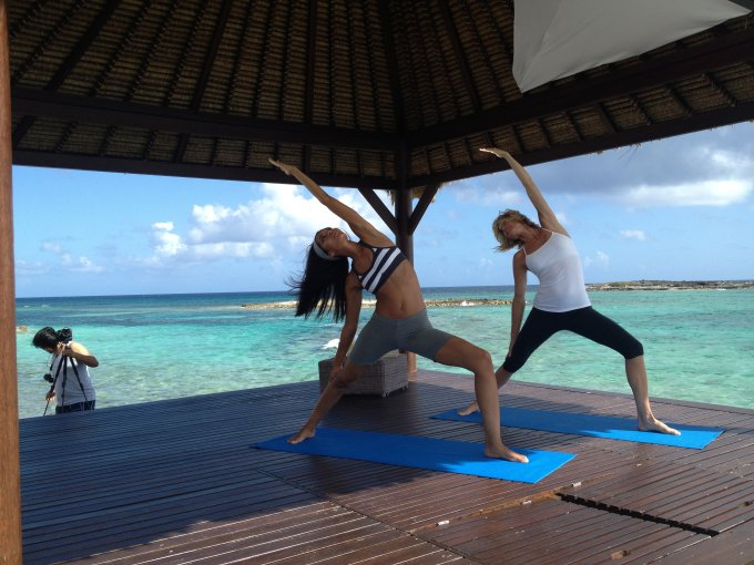 Directing Yoga Video