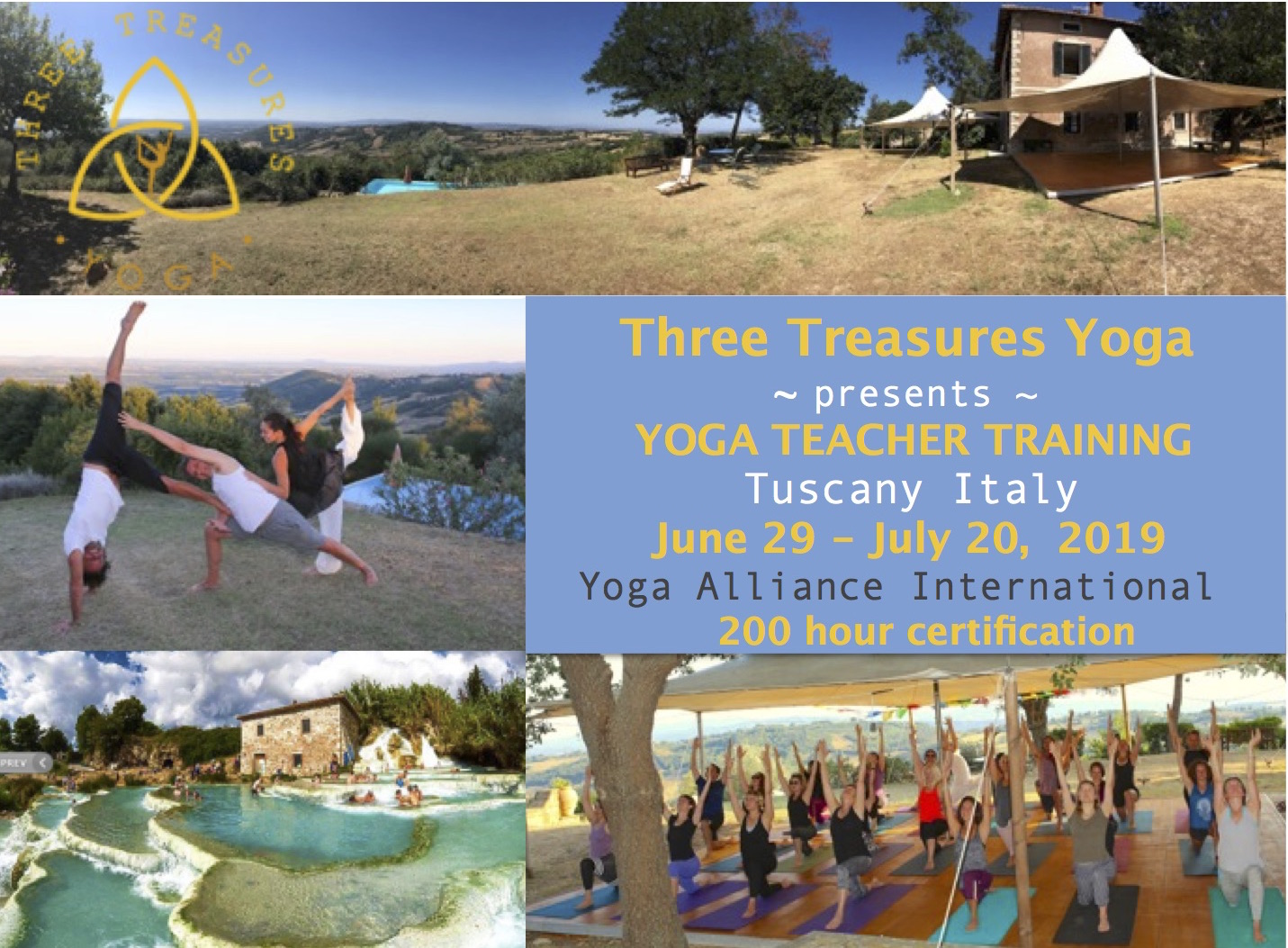 YOGA TEACHER TRAINING IN ITALY